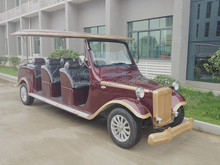 comfortable luxury electric sightseeing classic car