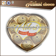 pcs 8 la forma del corazón de chocolate