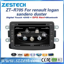 7 inch car dvd+gps+radio tv+bluetooth+car dvd gps for Renault Logan SANDERO/DUSTER