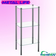 hot new products for 2015 stainless steel metal bathroom shelf