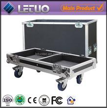 Aluminum flight case road case transport crate case speakers subwoofer eva case for speakers