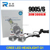 3000LM 30W LED Auto Lighting 9005 hb3 9006 HB4 Car LED Headlight kit