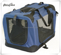 Deluxe Outdoor Portable Soft Pet Carrier or Crate