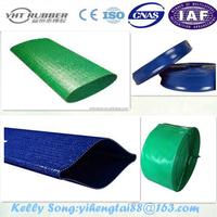 3/4-12 pouces PVC layflat decharge tuyau d'irrigation