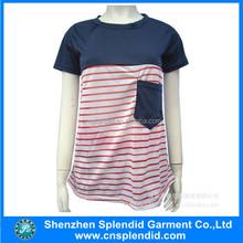 Shenzhen most popular products clothes fashion blank ladies tshirt