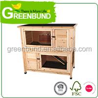 Wood Pet Product Rabbit Cage Rabbit Hutch Rabbit House
