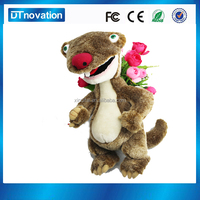 custom educational plush toy squirrel talking fairy tale story for kids