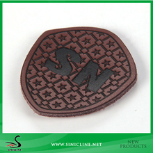 Sinicline Fashion Wallet Use Star Logo Embossing Leather Patch