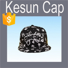 China supplier wholesale 100% cotton high quality hiphop snapback hat