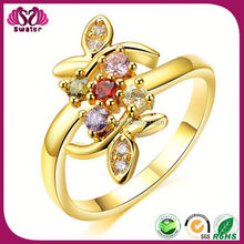 Wholesale Fashion Jewelry Ring For Women 24 Carat Gold Wedding Rings