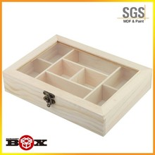 Timber high quality natural packaging box wooden luxury chocolate