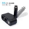 12V car charger plug cigarette lighter battery monitor