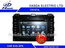 Toyota PRADO car GPS bluetooth FM/AM radio RCA AUX IN DVD PLAYER
