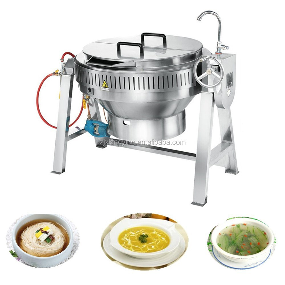 Xygt 100 central kitchen equipment stainless steel tilting for I kitchen equipment