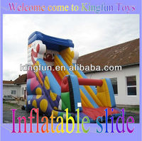 Christmas inflatable slide for festival