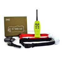 Aetertek AT-211 Rechargeable Waterproof 350M Remote Electric Shock No Bark Stop Dog Pet Training Collar for Two DOGS