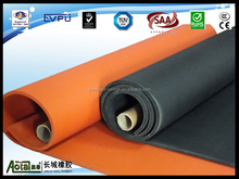 2-50mm Thickness Soft Color NBR/PVC flexible closed cell rubber thermal insulation sheet sponge