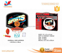 0utdoor toy Small Plastic Basketball with Basketball and Air Pump