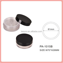 PA-1015B empty loose powder jar with sifter loose powder container