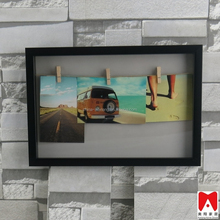 2015 Top Quality Popular Design Custom Made Magnetic Transparent Clear Acrylic Funia self adhesive sheets photo album