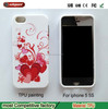 Custom Design Cell Phone Case for iphone 5 5S wholesale china factory Printing Tpu Soft phone case for apple phone