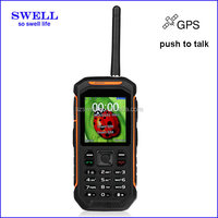 Factory Rugged Mobile Phone Runbo X6 IP67 Waterproof gps walkie talkie anti-shock 3 sim card mobile phones