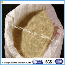 Food grade rice bag PP Woven fish/dog/cat feed packing bags