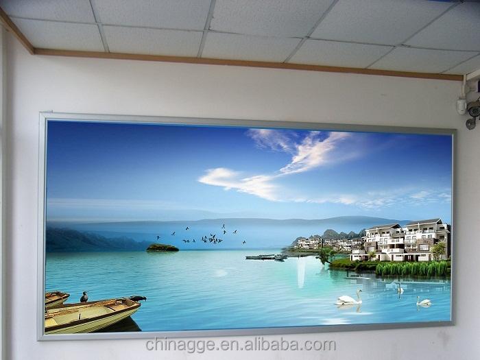 outdoor backlit led poster frame snap aluminum frame light