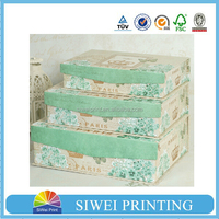 New arrival cardboard gift boxes with lid, walmart cardboard paper gift boxes for shirt