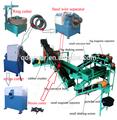 De reciclagem de pneus planta/de pirólise de pneus máquina/pó de borracha que faz a máquina