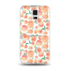 Juicy peach wear-resisting PC phone case for samsung s5