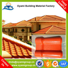 Top quality 25 years guarantee spanish clay roof tile for villa roof