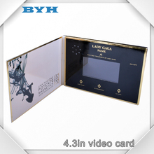 Latest product mini video business card with Good quality