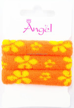 fashion color hair Elastic band,hair accessory,headbands, hair rope with printing,printed terry loop