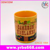 Hot Sale Customized Promotion Fashion gifts Big Belly/ Cask of Wine Starbucks creative ceramic Coffee Cup/ Mug Wholesale