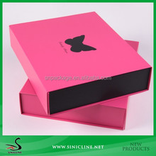 Sinicline wholesale high quality magnetic folding paper box