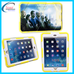 7'' Tablet Shock protective custom design printing case for iPad 1/2/3