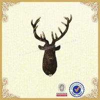 Lobby wall sign moose head wall mounts deer head wall sign