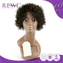 Good Prices Customized Portable And Endurable Highlights Red Afro Hair Short Kinky Twist Wigs