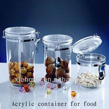plastic airtight jar,food storage,storage bottle
