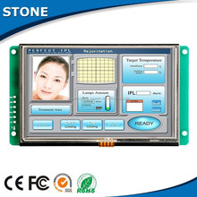 5 inch High cost-performance TFT LCD touch monitor with full colors display for GPS, Video player, Speedometer, Audio broadcast