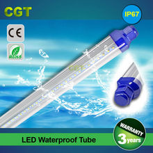 high quality LED tube T8 waterproof lamp IP67 20w 1.5m 5FT 3 years warranty CE Rohs approved SMD2835