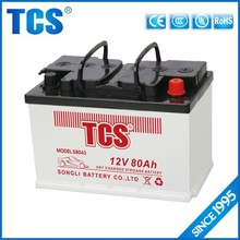 High performance 12V deep cycle car batteries for sale
