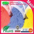 duro acabado de pintura poliéster en polvo