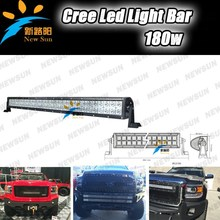 Wholesale Price Car Off Road LED Work light Bar Flood/Spot Combo Beam, 180W Light Bar For Jeep