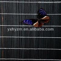 black bamboo roller curtain / blind/ farbic