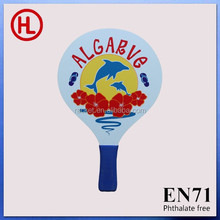 HIGH QUALITY Wooden Beach tennis Racket with EVA handle with beach ball wholesale