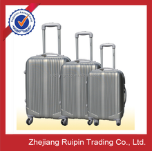 ABS/ABS+PC/PC material travel trolley luggage bag