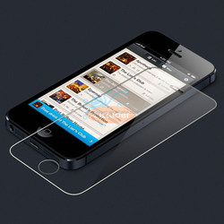 Tempered Glass Screen Protector for iPhone 5/5S/5C,Best Quality With Factory Price , MOQ 50pcs with paypal