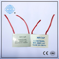 CBB61 Electric Fan Capacitor Smd Manufacturers